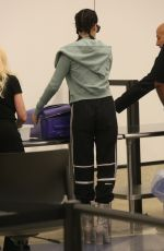 KENDALL JENNER at LAX Airport in Los Angeles 06/30/2017