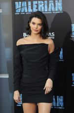 KENDALL JENNER at Valerian and the City of a Thousand Planet Premiere in Hollywood 07/17/2017