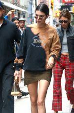 KENDALL JENNER Leaves Her Hotel in New York 07/27/2017