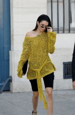 KENDALL JENNER Leaves Vogue Office in Paris 07/03/2017