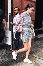 KENDALL JENNER Out and About in New York 07/28/2017