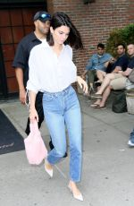 KENDALL JENNER Out and About in New York 07/29/2017