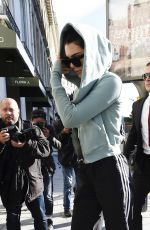 KENDALL JENNER Out and About in Paris 07/01/2017
