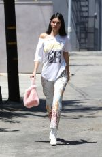 KENDALL JENNER Out and About in West Hollywood 07/22/2017