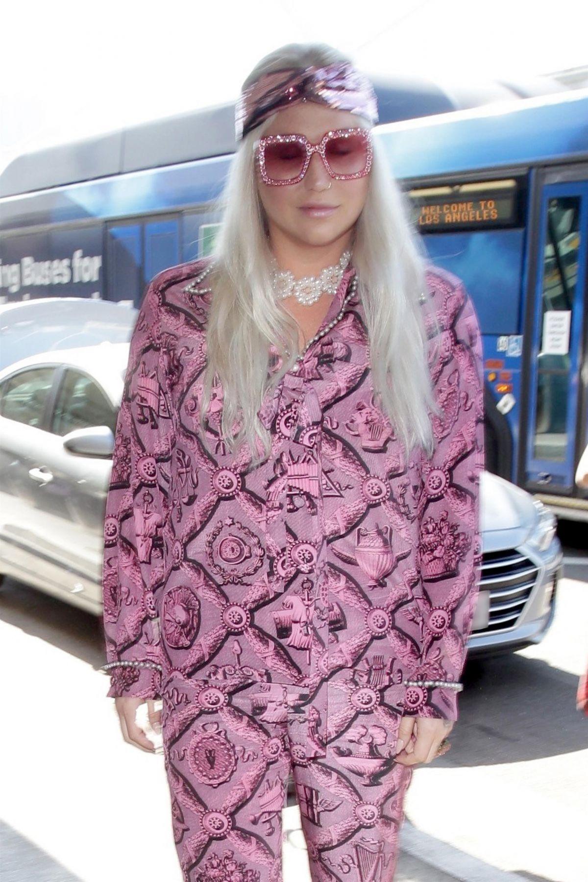 KESHA SEBERT at Los Angeles International Airport 07/02/2017