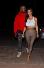 KIM KARDASHIAN and Kanye West Out in Sherman Oaks 07/07/2017