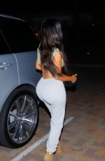 KIM KARDASHIAN Night Out in Los Angeles 07/07/2017