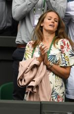 KIM SEARS at Wimbledon Championships in London 07/03/2017