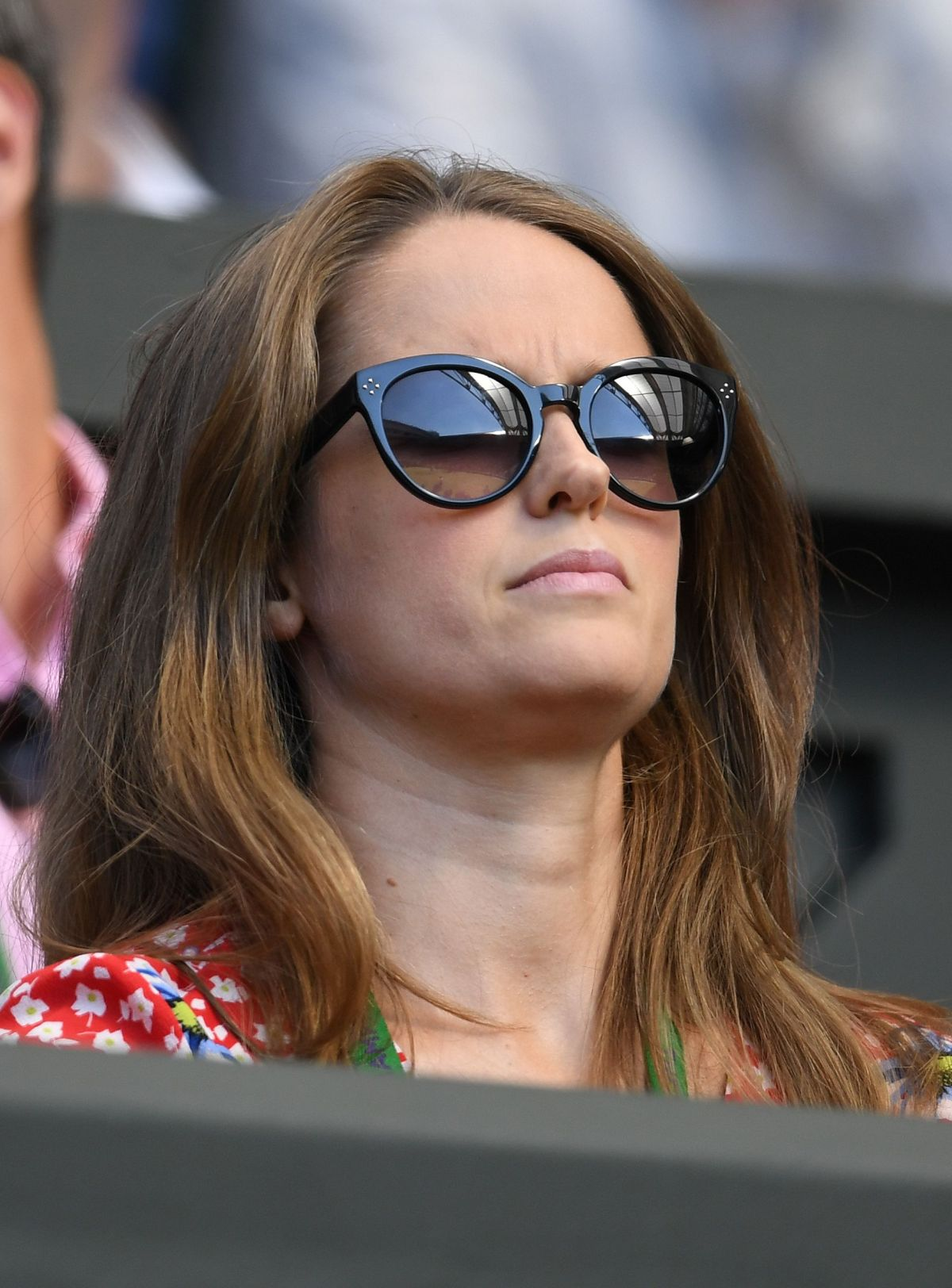 KIM SEARS at Wimbledon Championships in London 07/05/2017