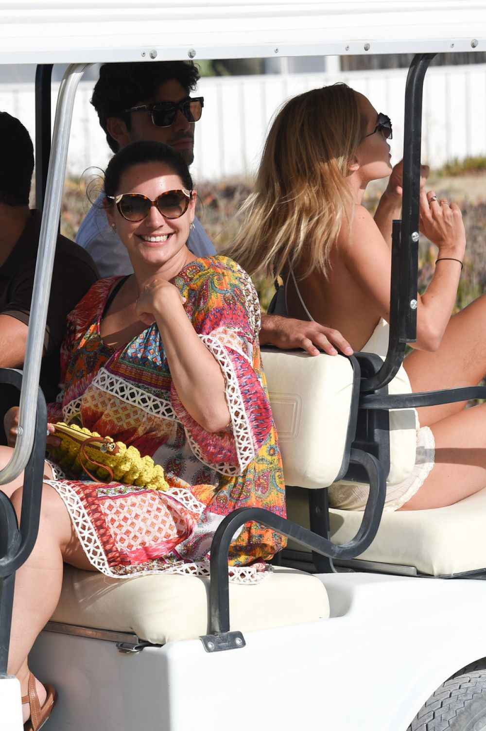 bcb25ee9d0b KIMBERLEY GARNER and KELLY BROOK at a Beach in St. Tropez 07/19/