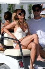 KIMBERLEY GARNER and KELLY BROOK at a Beach in St. Tropez 07/19/2017