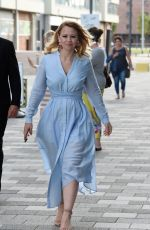 KIMBERLEY WALSH Arrives at ACC Arena in Liverpool 07/08/2017