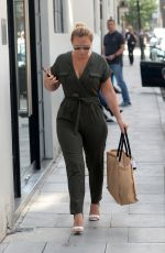 KIMBERLEY WALSH Arrives at AOL Studios in London 07/20/2017