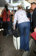 KIRSTEN DUNST at LAX Airport in Los Angeles 07/06/2017