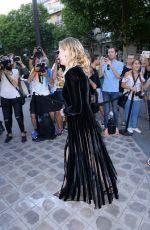 KIRSTEN DUNST at Vogue Party at Paris Fashion Week 07/04/2017