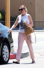 KIRSTEN DUNST Leaves Olive and Thyme in Burbank 07/22/2017