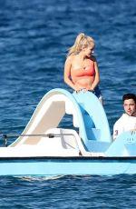 KOURTNEY KARDASHIAN in Swimsuit on the Beach in St Tropez 07/03/2017
