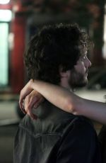 KRYSTEN RITTER on the Set of Jessica Jones Season 2 in New York 06/30.2017