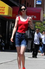 KRYSTEN RITTER Out Shopping in New York 06/29/2017