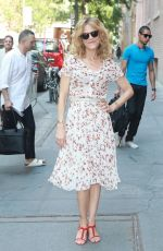 KYRA SEDGWICK at The View in New York 07/18/2017