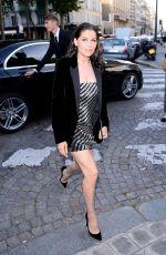 LAETITIA CASTA at Vogue Party at Paris Fashion Week 07/04/2017