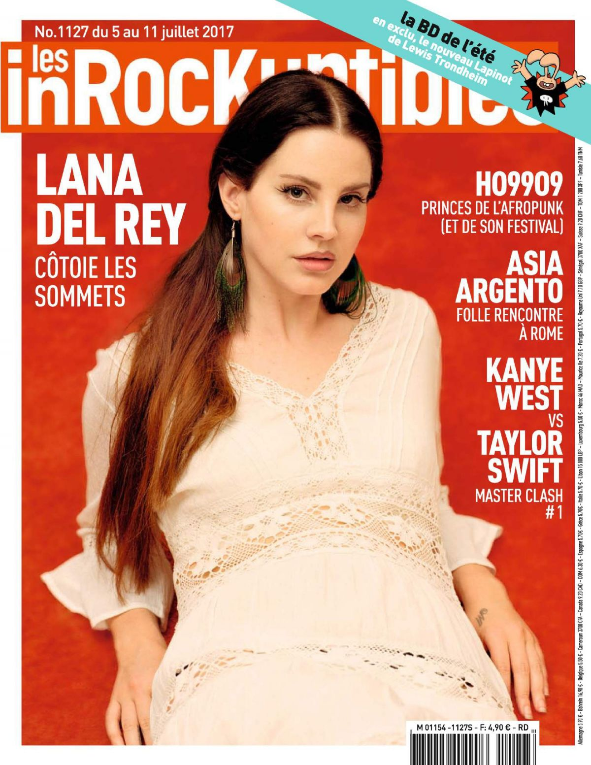 LANA DEL REY in Les In Rockuptibles, July 2017