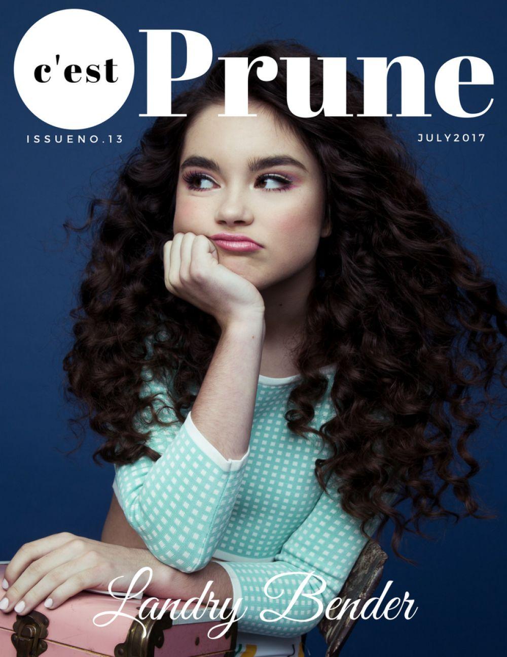 LANDRY BENDER for Prune Magazine, July 2017