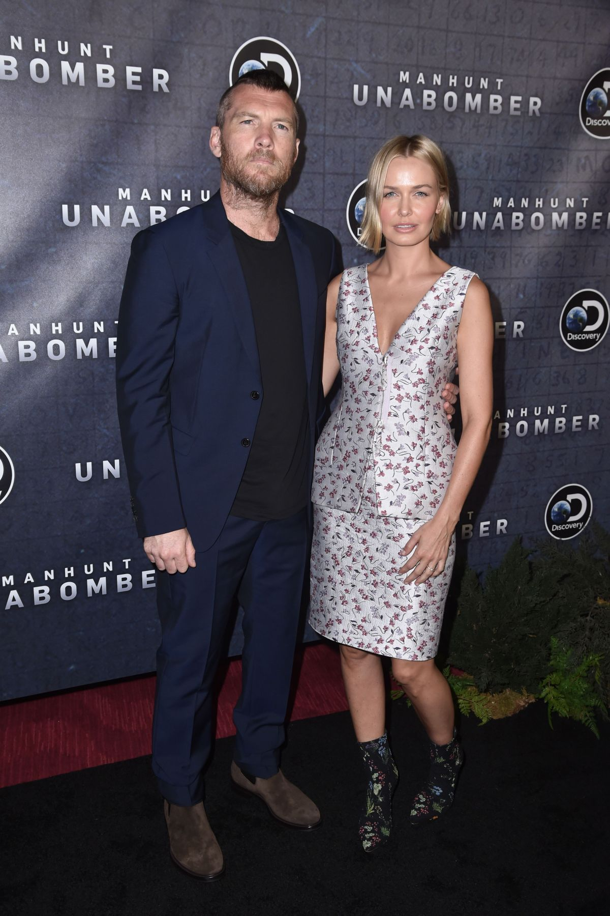 LARA BINGLE at Manhunt: Unabomber TV Show Premiere in New York 07/19/2017
