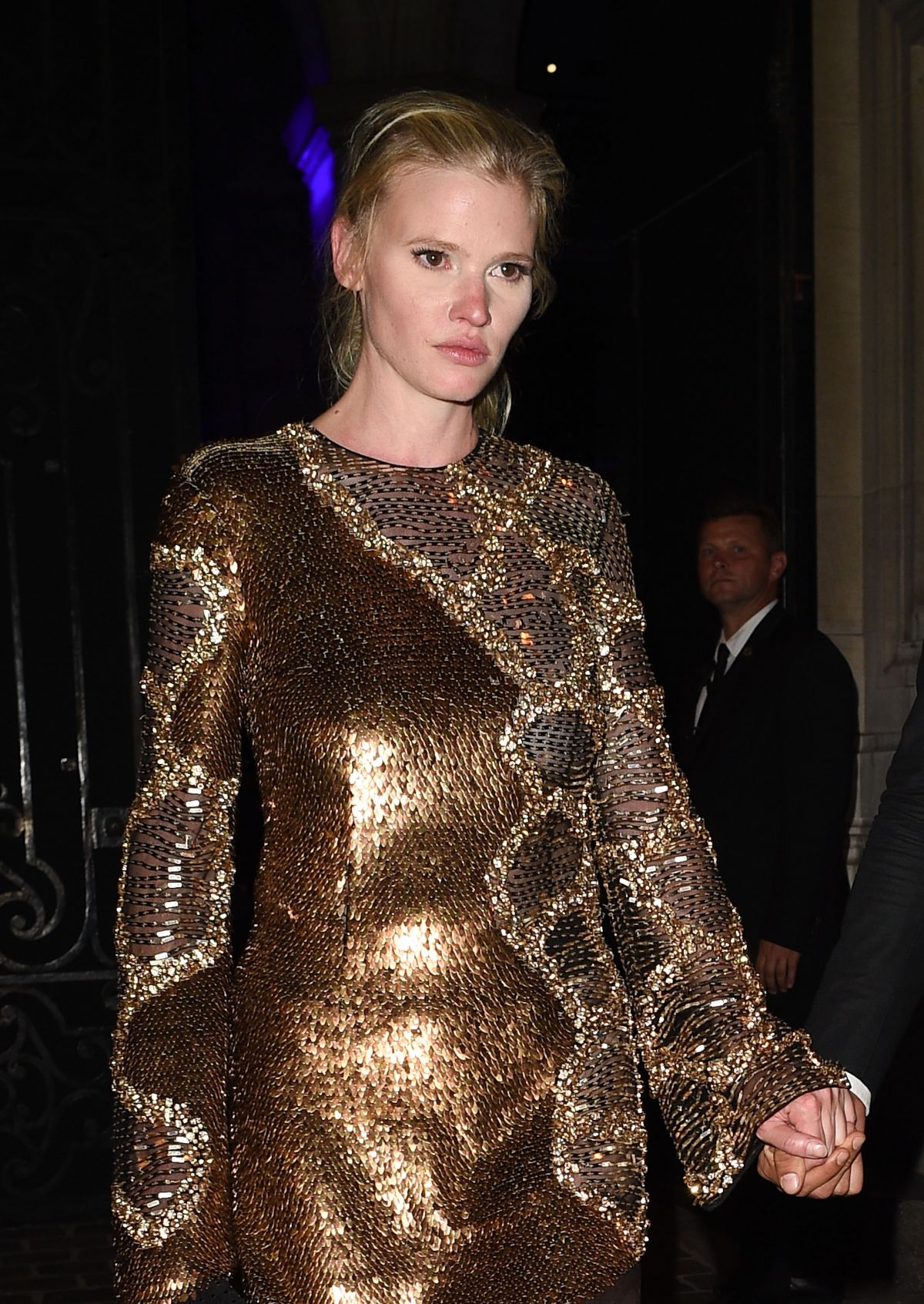 LARA STONE at Vogue Party at Paris Fashion Week 07/04/2017