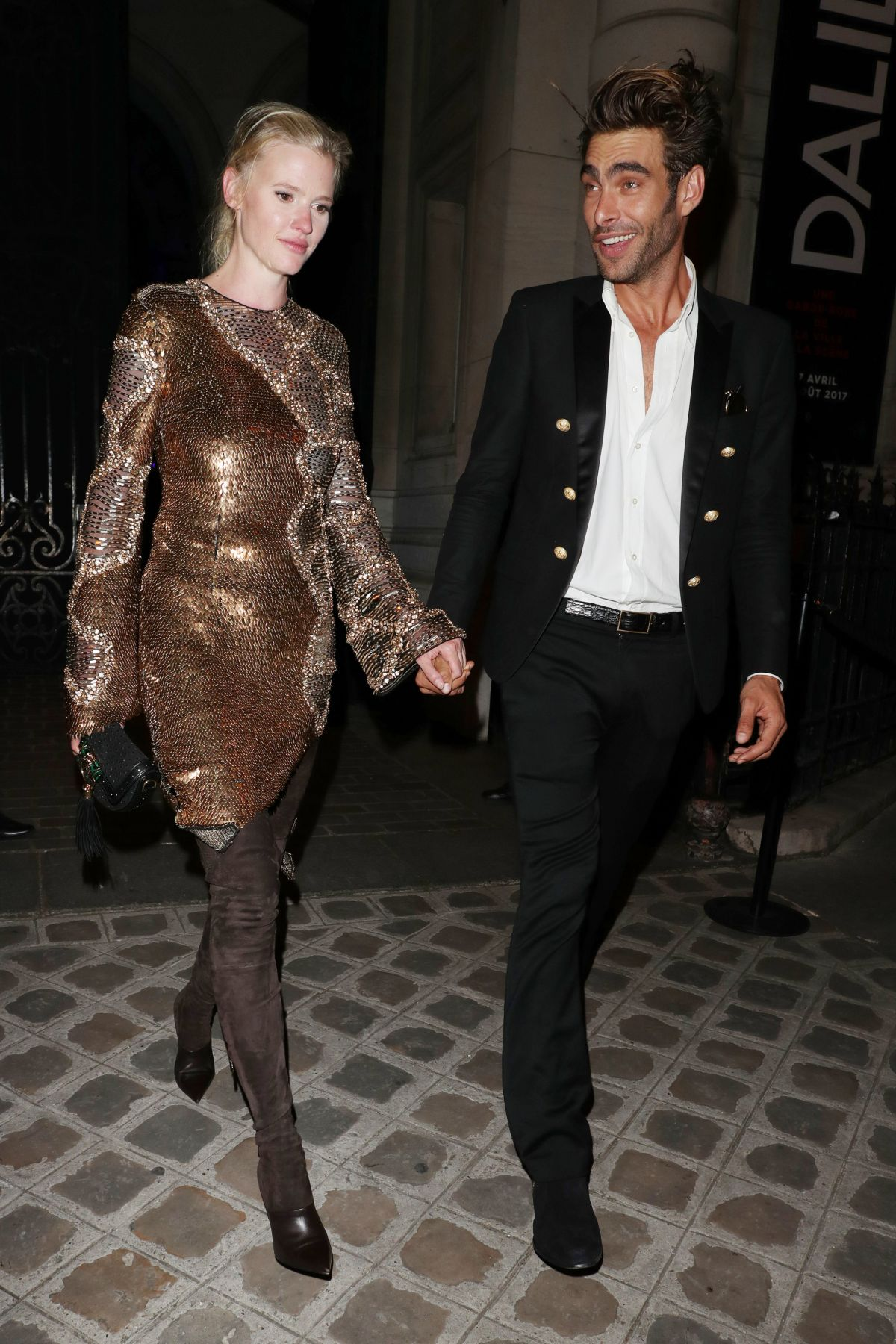 LARA STONE Night Out in Paris 07/04/2017