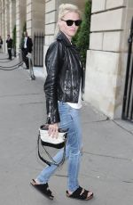 LARA STONE Out and About in Paris 07/02/2017