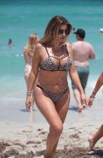 LARSA PIPPEN in Bikini on the Beach in Miami 07/01/2017