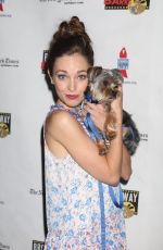 LAURA OSNES at 19th Annual Broadway Barks Animal Adoption Event in New York 07/08/2017
