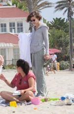 LAUREN COHAN and ALANNA MASTERSON at Coronado Beach in San Diego 07/21/2017