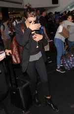 LAUREN COHAN at LAX Airport in Los Angeles 07/25/2017