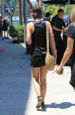 LAUREN COHAN Out for Lunch in Beverly Hills 07/14/2017