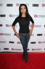 LAUREN NEAL at Strangers TV Show Screening at Outfest Los Angeles LGBT Film Festival 07/15/2017