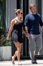 LEA MICHELE and Zandy Reich Out in New York 07/18/2017