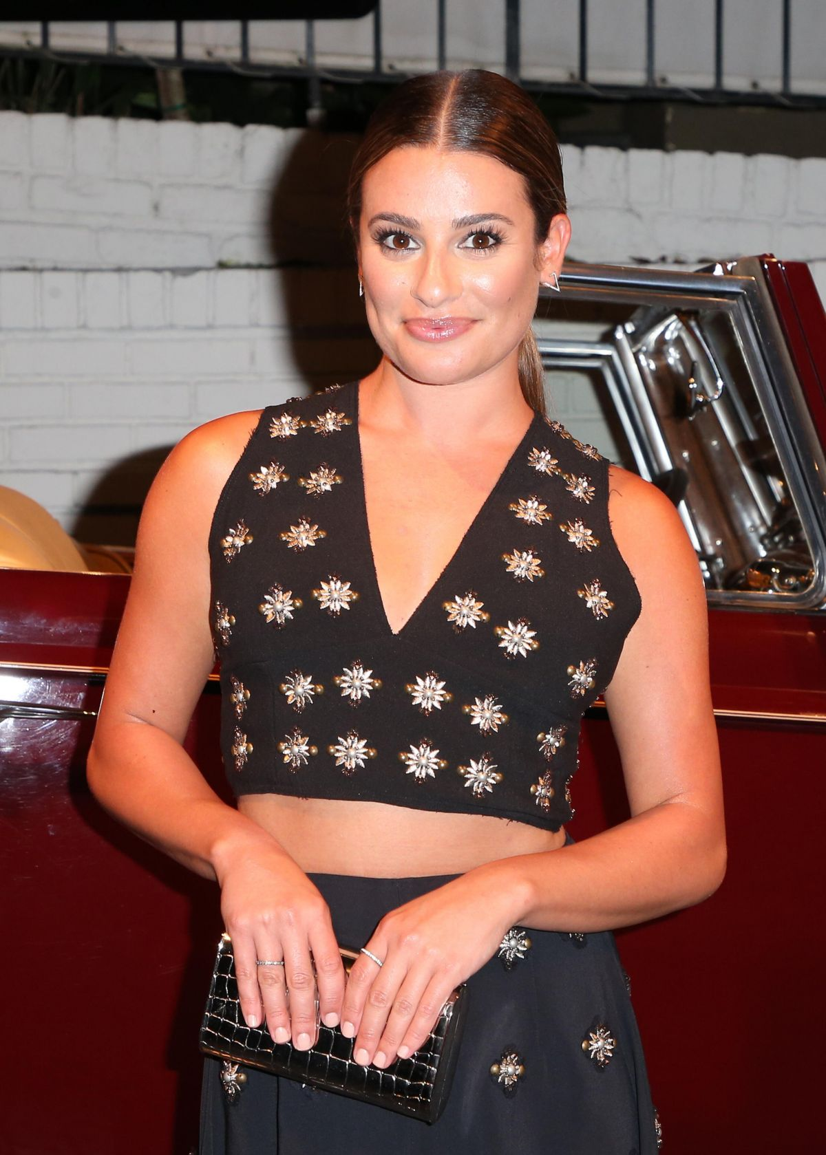 LEA MICHELE at The Last Tycoon After Party in Los Angeles 07/27/2017