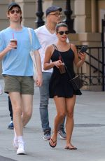 LEA MICHELE Out and About in New York 07/18/2017