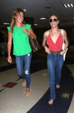 LEANN RIMES at LAX Airport in Los Angeles 07/02/2017