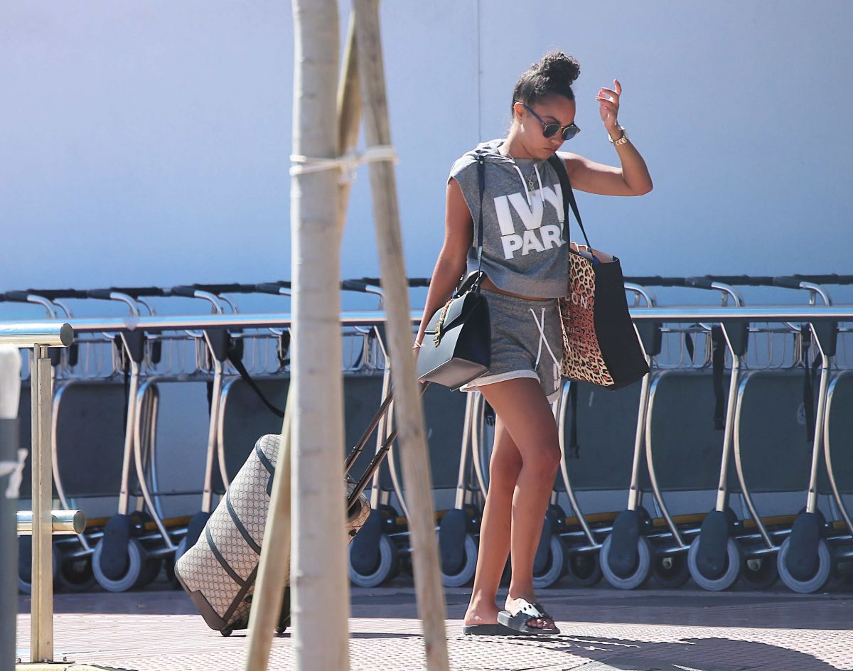 LEIGH-ANNE PINNOCK Out in Ibiza 07/06/2017