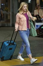 LILI REINHART at Vancouver International Airport 07/16/2017