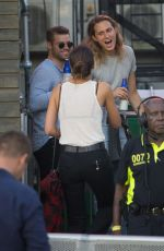 LILY ALDRIDGE at Kings of Leon Concert at Hyde Park in London 07/06/2017