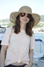 LILY COLLINS Arrives at Her Hotel in Italy 07/14/2017