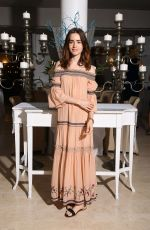 LILY COLLINS at Ambi Media Droup Dinner in Honor of Lily Collins 07/14/2017