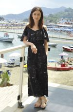 LILY COLLINS at To the Bone Photocall at Ischia Global Fest 07/14/2017