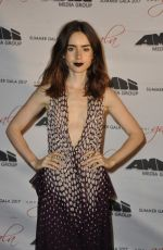 LILY COLLINS at To the Bone Premiere at Ischia Global Fest 07/15/2017