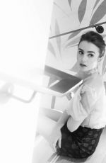 LILY COLLINS for New Potato, 07/24/2017