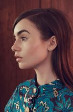 LILY COLLINS for The Edit Magazine, June 2017